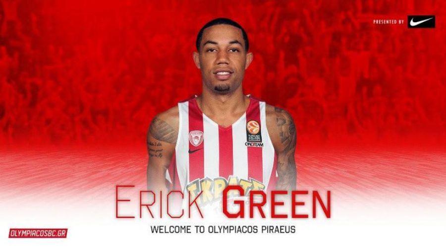 Ενθουσιασμένος για Ολυμπιακό ο Γκριν