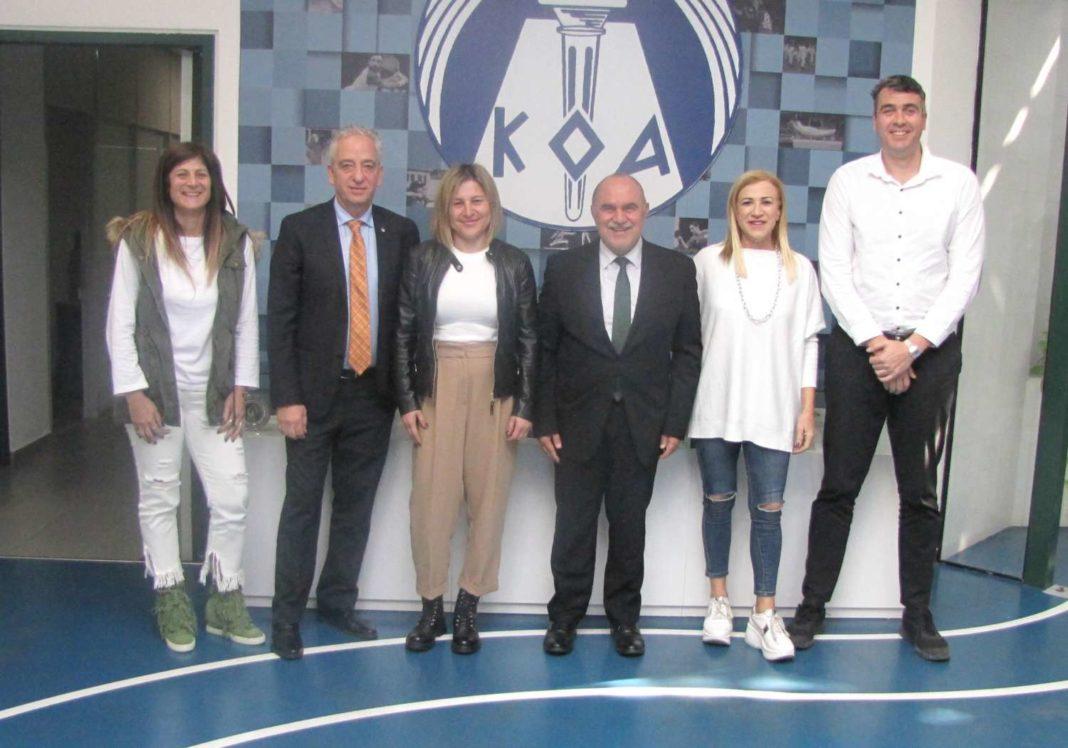 Η Κάλια Παπαδοπούλου συναντήθηκε με την Επιτροπή Πρεσβευτή Ευ Αγωνίζεσθαι Fair Play