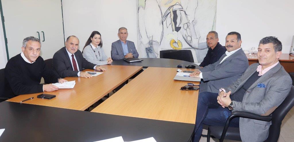 Συνάντηση Προέδρου ΚΟΑ με τον Σύνδεσμο Κυπρίων Προπονητών Ποδοσφαίρου