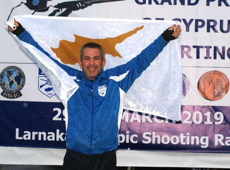 Σκοποβολή: Αργυρό το πρώτο μετάλλιο για την Κύπρο!