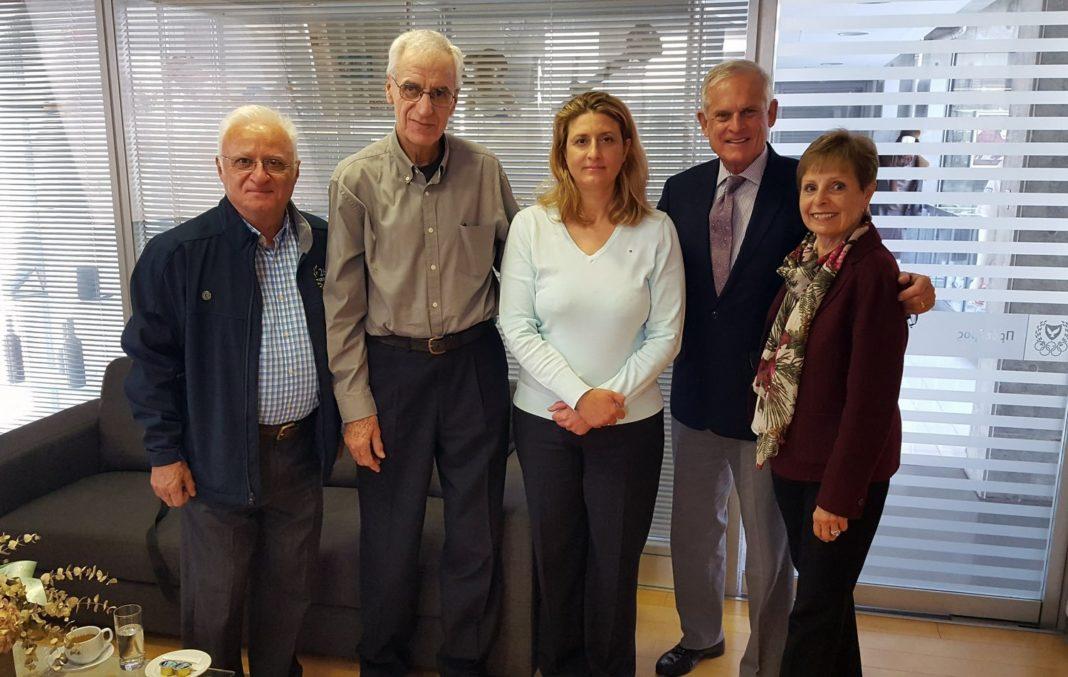 Επίσκεψη του διευθυντή του ιδρύματος «26.2» στο Ολυμπιακό Μέγαρο