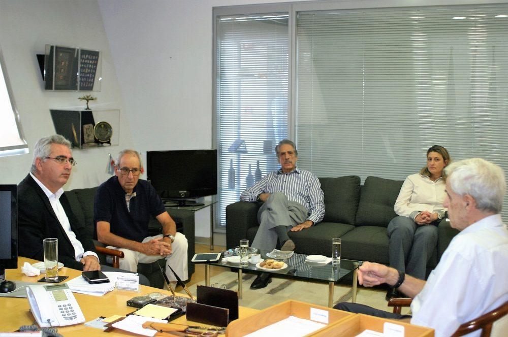 Συνάντηση ΚΟΕ με τον κ. Κυριάκο Χατζηγιάννη