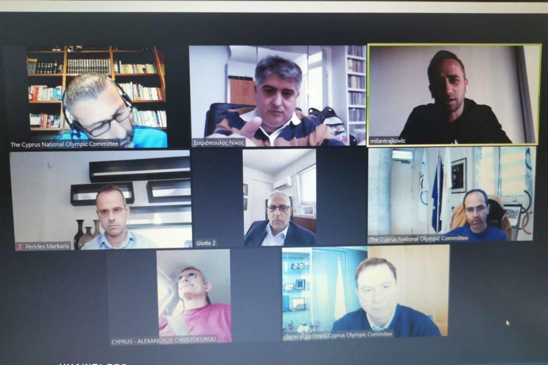 ΚΟΕ - Ολυμπιακή Ομάδα «Τόκυο 2020»: Συνάντηση με Μίλαν Τραΐκοβιτς