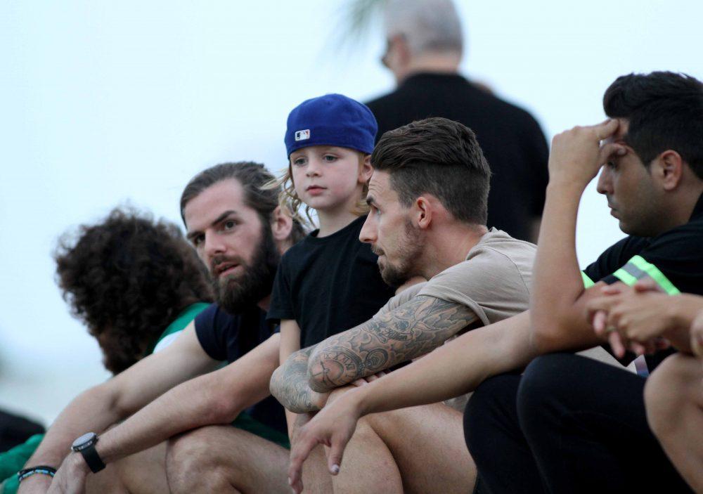 Μπαμπάς και γιός στο «Ηλίας Πούλλος»