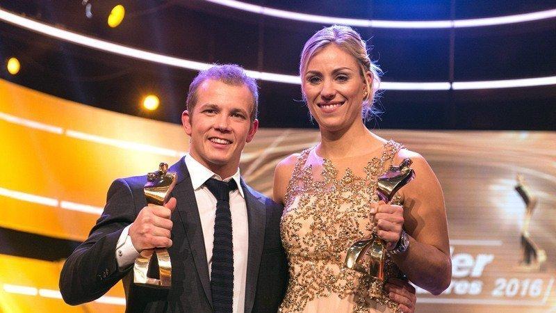 Η Κέρμπερ κορυφαία αθλήτρια της Γερμανίας για το 2016