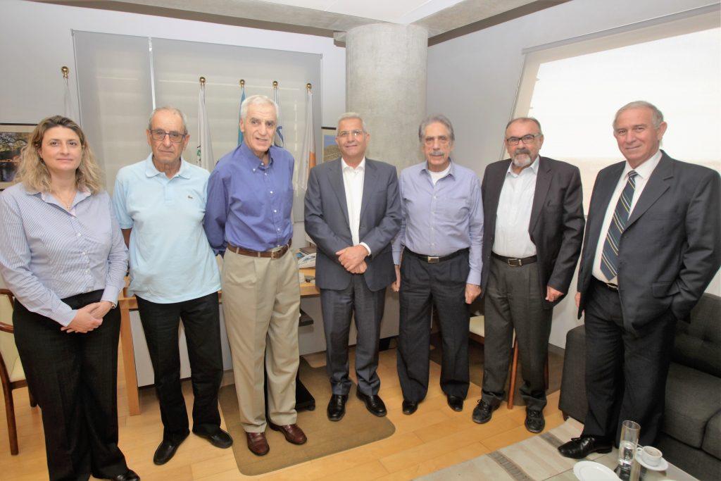 Συνάντηση ΚΟΕ με τον Άντρο Κυπριανού (pics)