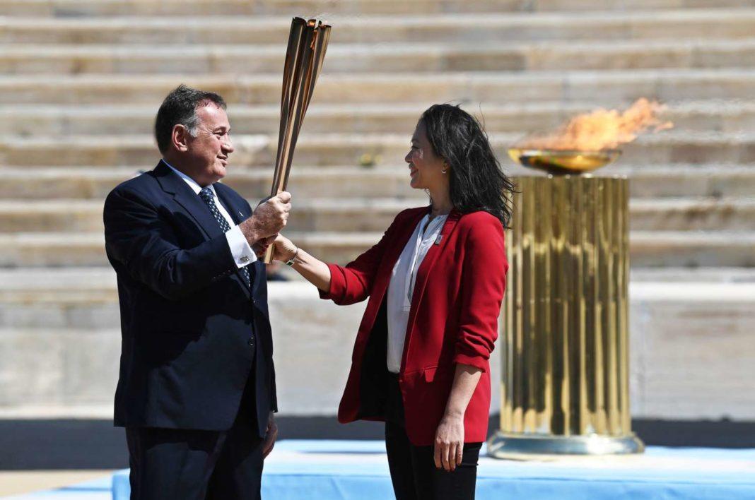 Καθ' οδόν για το Τόκιο η Ολυμπιακή Φλόγα!
