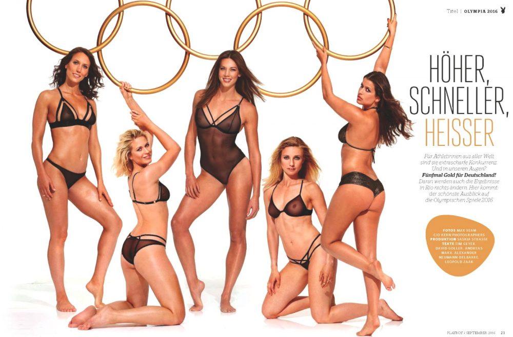 Oλυμπιακοί Αγώνες: Αθλήτριες φωτογραφήθηκαν για το «Playboy»! (pics)