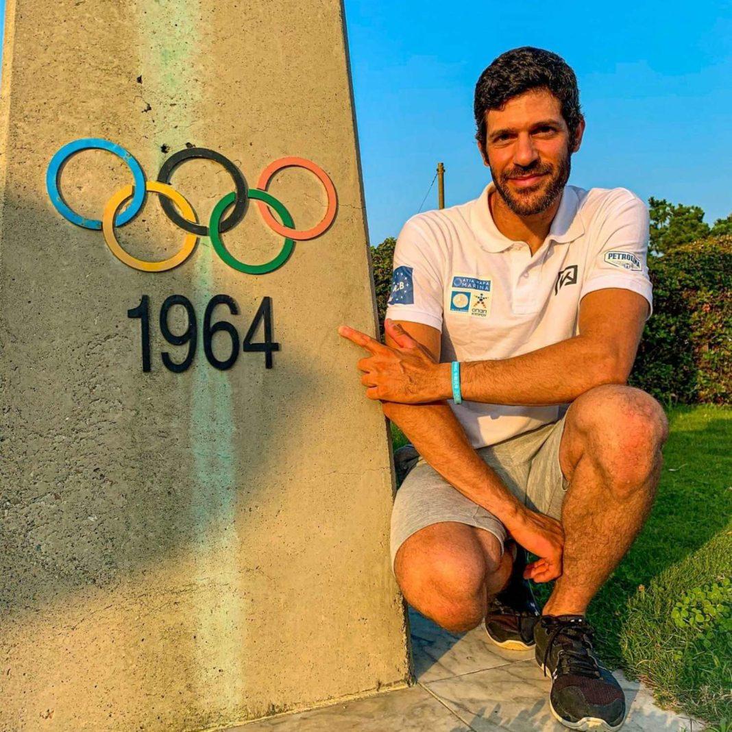 O Κοντίδης βρέθηκε σε ένα ιστορικό μέρος έναν χρόνο πριν τους Ολυμπιακούς