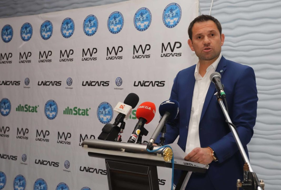 Νεοφυτίδης: «Μονόδρομος η ολοκλήρωση του πρωταθλήματος»