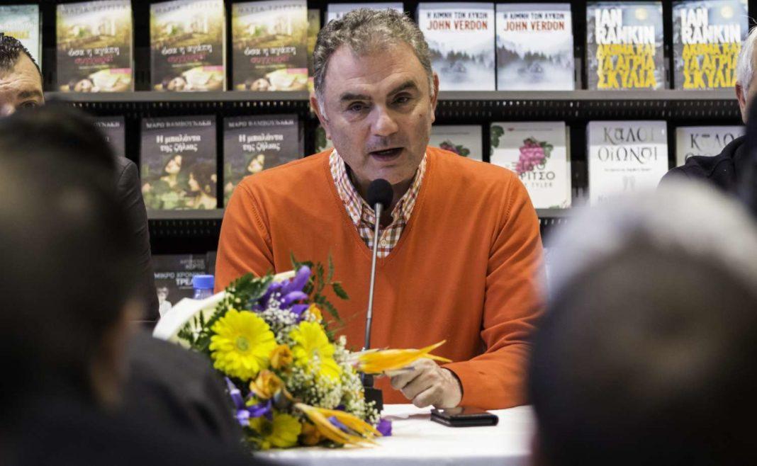 Χρ. Σωτηρακόπουλος: Παρουσιάστηκε το νέο του βιβλίο «Ταξίδι στ' αστέρια»