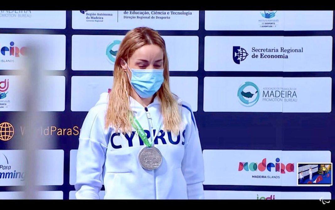 Αργυρό μετάλλιο για την Καρολίνα Πελενδρίτου στη Μαδέρα