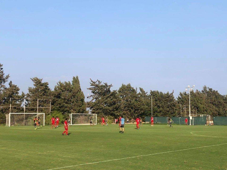 Πρεμιέρα της ομάδας U19 με αντίπαλο την Ομόνοια