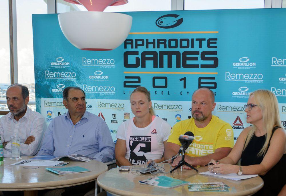 Υψηλές παρουσίες στους Aphrodite Games