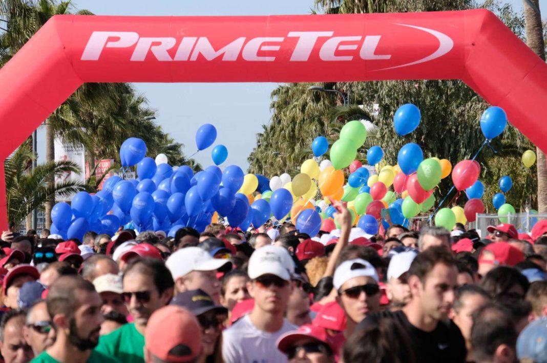 Με την Κοινωνική Προσφορά συνδέεται ο Primetel Εταιρικός Δρόμος στον ΟΠΑΠ Μαραθώνιο Λεμεσού