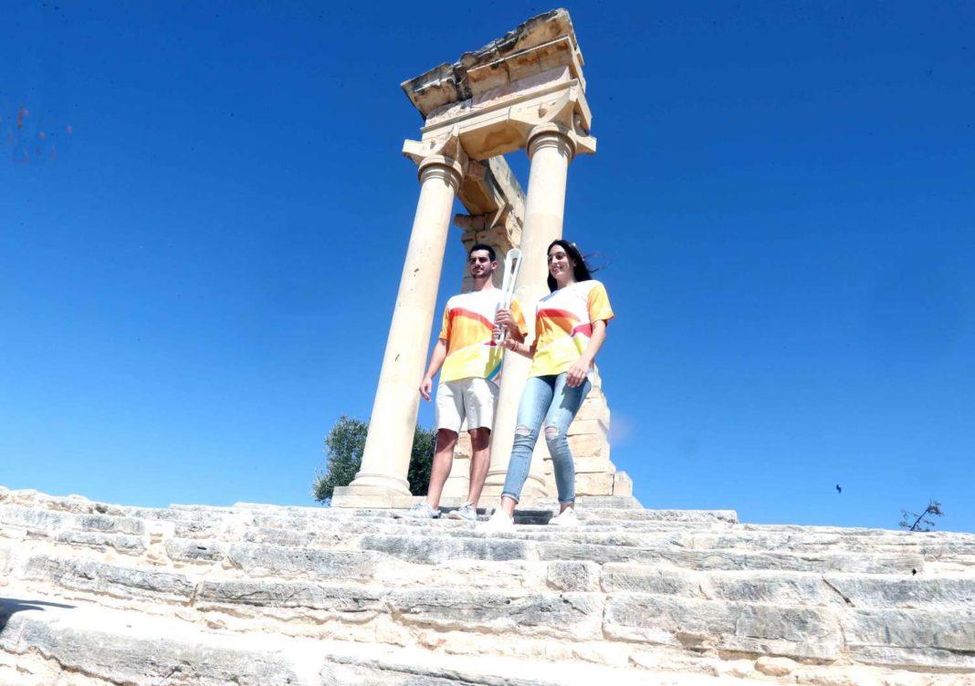 Λεμεσό και Πάφο επισκέφτηκε η Queen's Baton Relay
