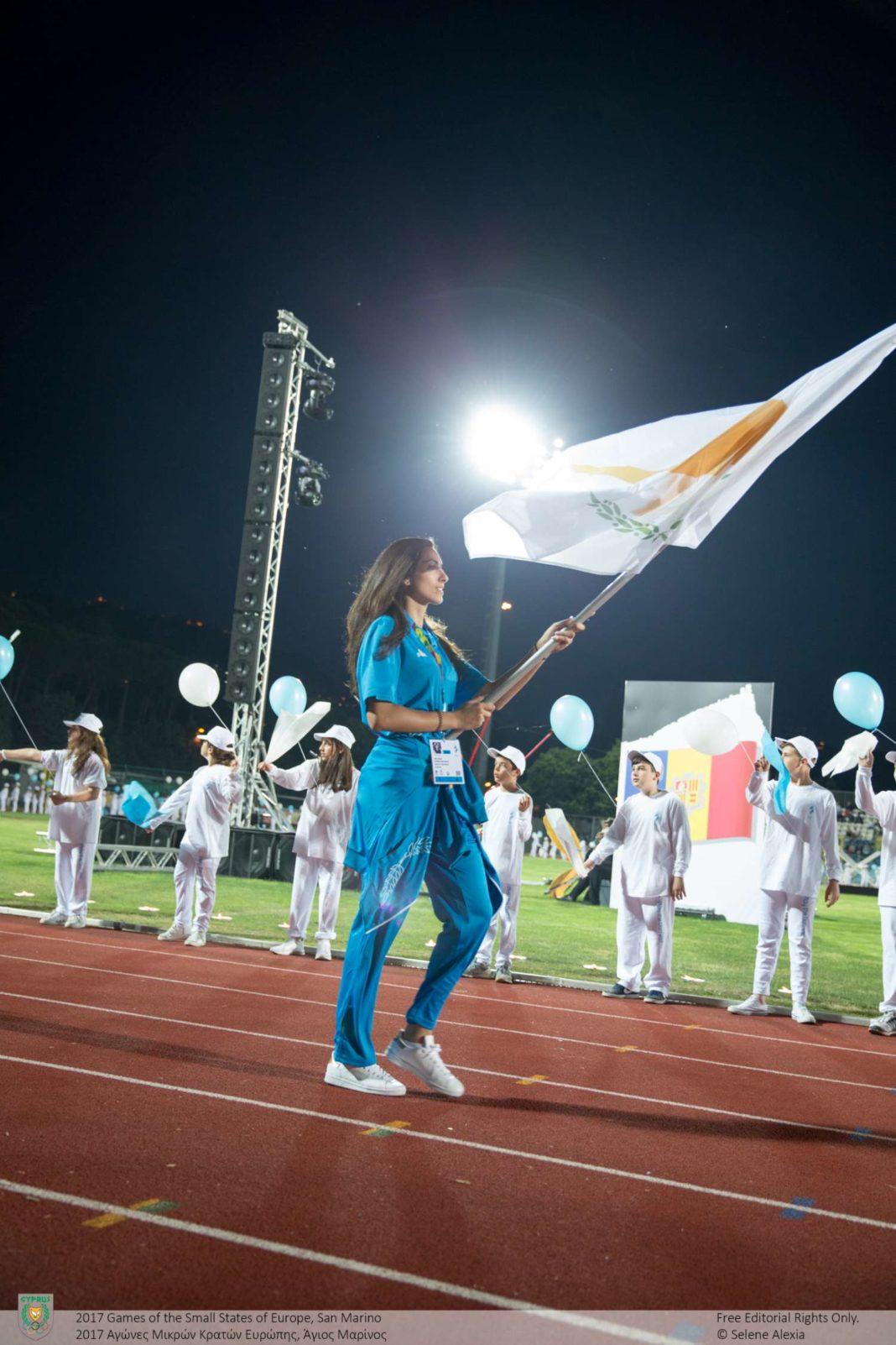 ΑΜΚΕ: Σημαιοφόρος η Μανωλίνα Κωνσταντίνου