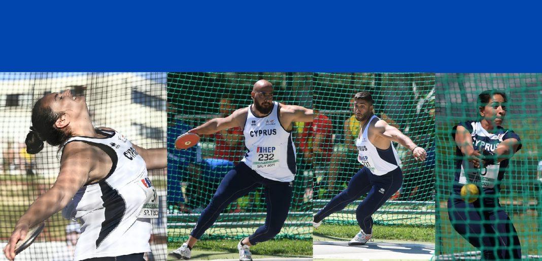 Στο Φέστιβαλ Ρίψεων της Τρίπολης τέσσερις αθλητές μας