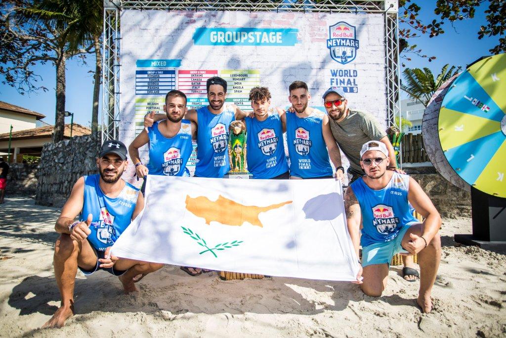 Τρίτη στον όμιλο του Παγκοσμίου Τουρνουά «Red Bull Neymar Jr's Five» η Κύπρος