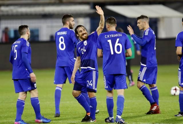 Τα στιγμιότυπα της νίκης της Εθνικής μας επί του Καζακστάν