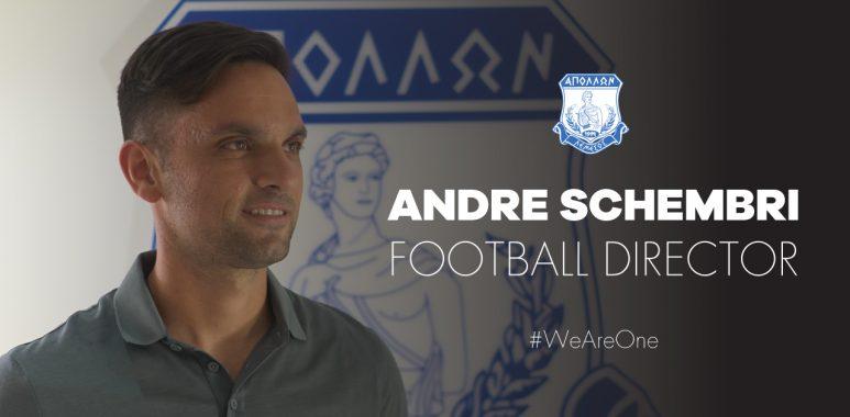 Απόλλων: Επίσημα διευθυντής ποδοσφαίρου ο Σκέμπρι
