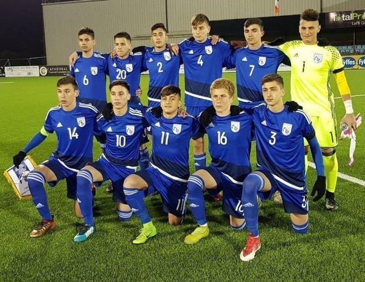 Έξι ποδοσφαιριστές της Ομόνοιας βασικοί στο παιχνίδι της εθνικής U14