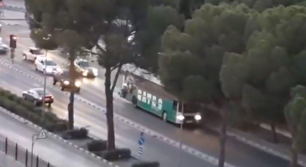 Βίντεο: Στους δρόμους το λεωφορείο της Θύρας 9 για τους πρωταθλητές