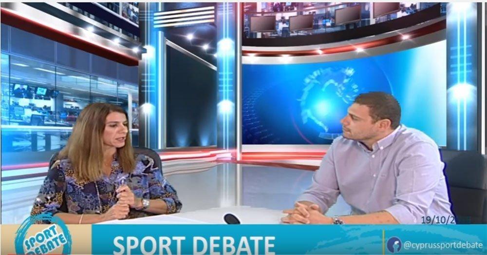 Sport Debate: Το 4ο επεισόδιο της εκπομπής (video)