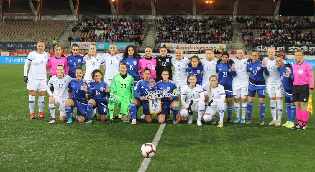 Ισχυρό μήνυμα από τις διεθνείς Κύπριες ποδοσφαιρίστριες στο Ελσίνκι!