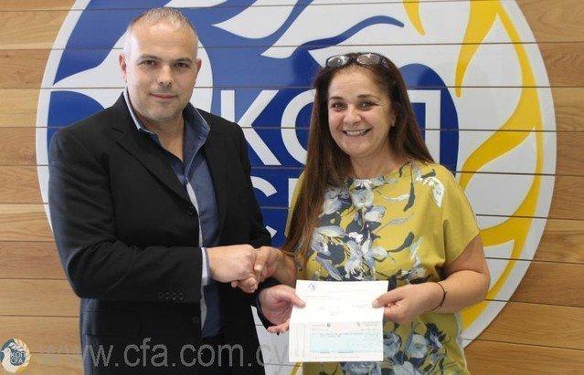 Το UEFA Foundation και η ΚΟΠ στηρίζουν τα «Μοναδικά Χαμόγελα»