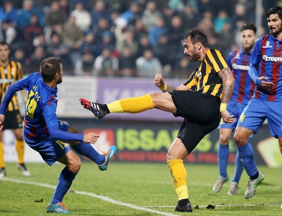 «Πέταξε» δύο βαθμούς στην Κέρκυρα η ΑΕΚ