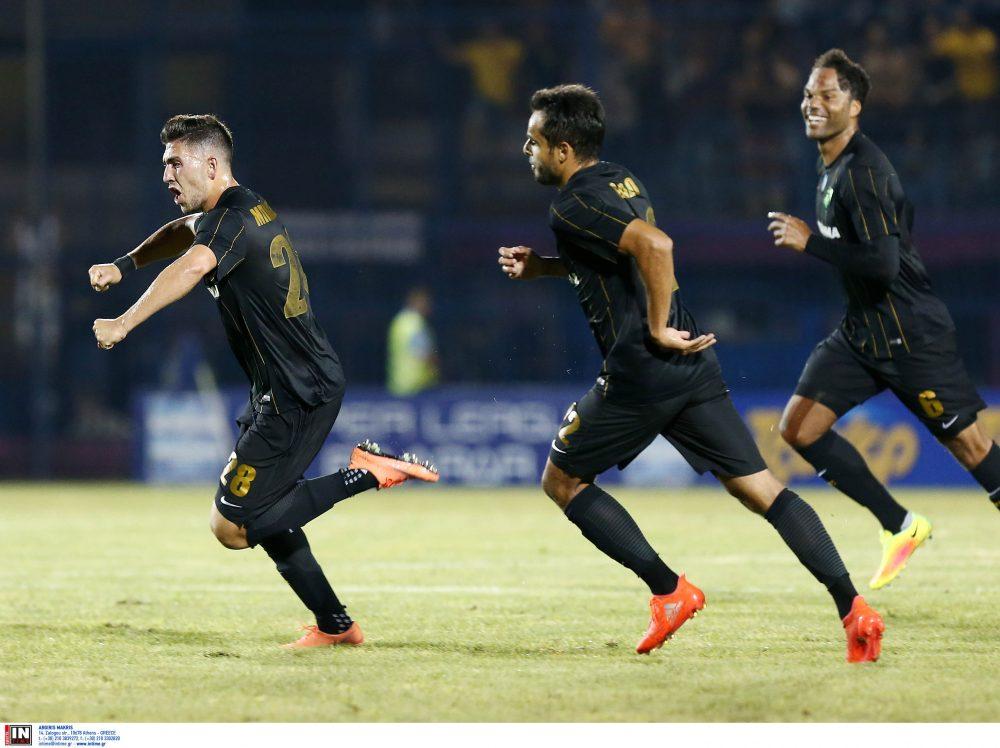 «Καθαρή» και δίκαιη νίκη η ΑΕΚ στη Βέροια