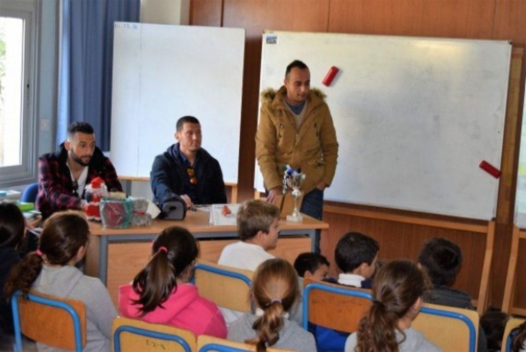 Επίσκεψη στο δημοτικό σχολείο Σωτήρος