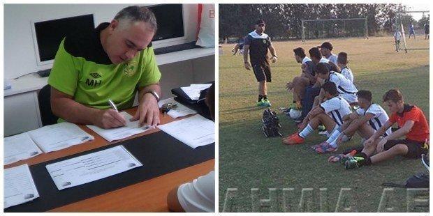 Μιχάλης Χέις ο νέος προπονητής στην εφηβική ομάδα