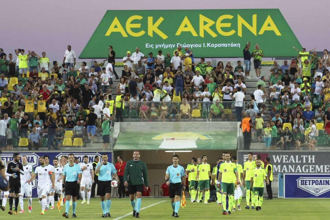 «Μεγάλες στιγμές έζησε το ΑΕΚ Αρένα από χιλιάδες φίλους της ΑΕΚ»