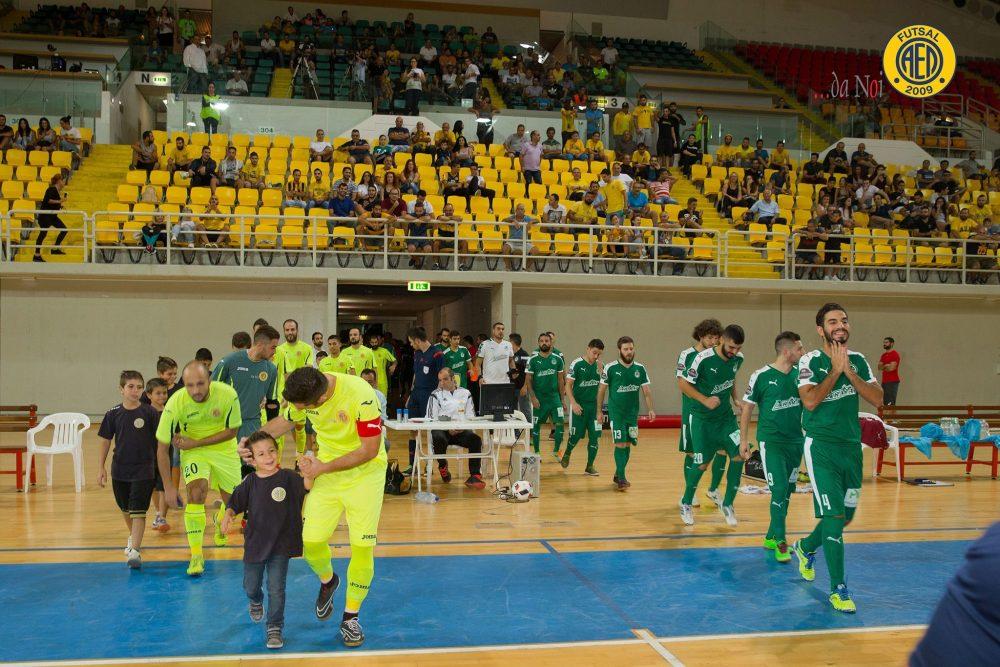 Ζωντανά από το Alfa Sports ο αγώνας Κυπέλλου Φούτσαλ Danoi ΑEΛ - Εθνικός Λατσιών