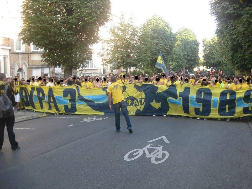 Eνωμένοι και αποφασισμένοι oι ΑΕΛίστες στη Λάρνακα