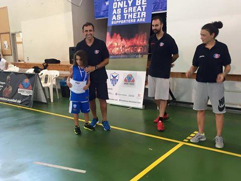 Απονομές στο Manos Manouselis Basketball Development Clinic 2016 (pics)