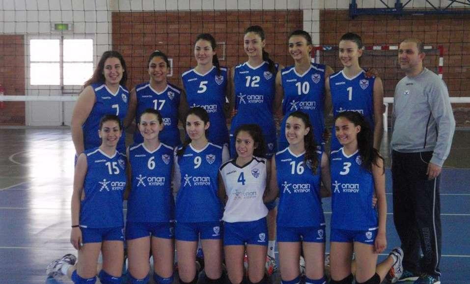 Ανόρθωση: Πρωταθλήτριες Κύπρου με εξαιρετική εμφάνιση