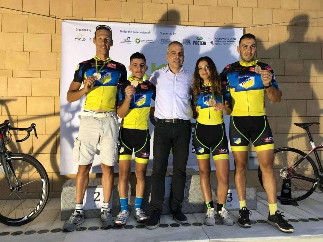 ΑΠΟΕΛ: Από επιτυχία σε επιτυχία οι ποδηλάτες του