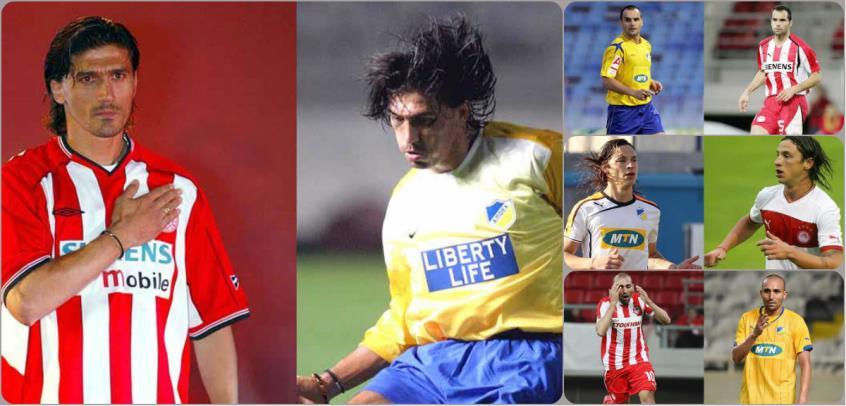 Οι 13 παίκτες και 6 προπονητές που ενώνουν ΑΠΟΕΛ και Ολυμπιακό [pics]