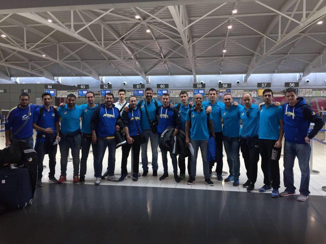 ΑΠΟΕΛ: Τελικός προορισμός το Αζερμπαϊτζάν (pics)