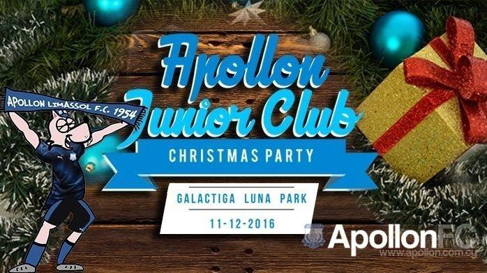 Απόλλων: Μεγάλο πάρτι του Junior Club