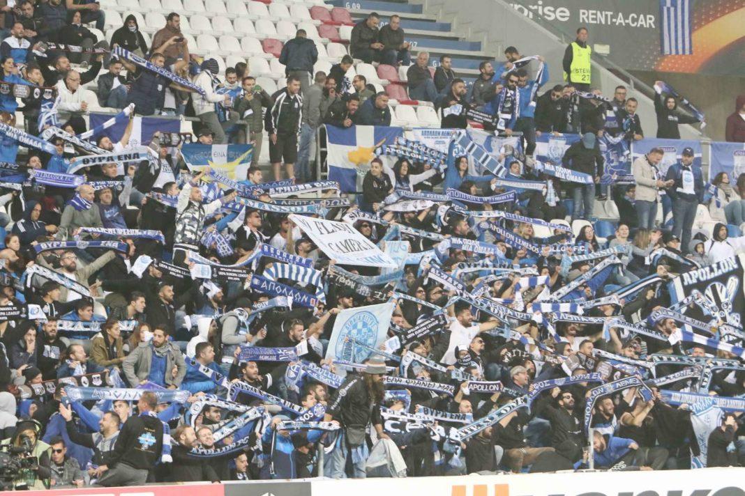 Βαριά «καμπάνα» της UEFA στον Απόλλωνα