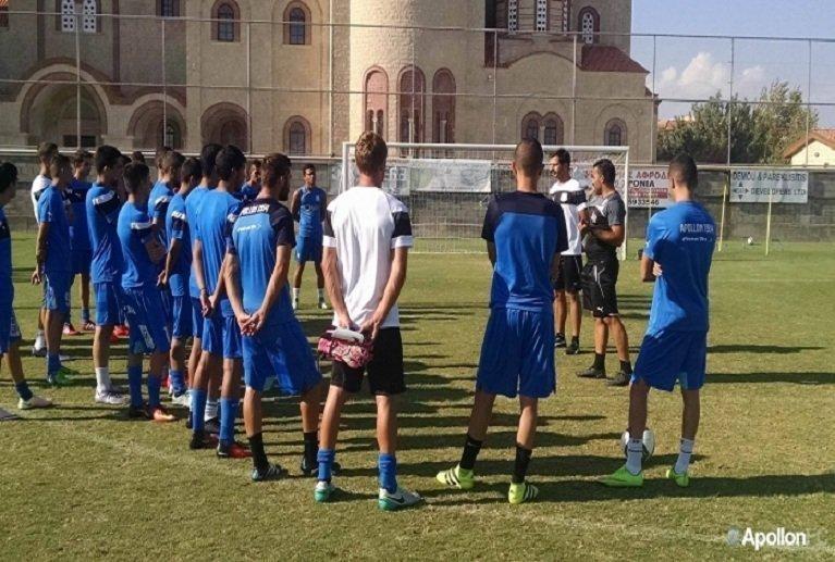 Αυγουστή: «Στόχος μας να ετοιμάσουμε ποιοτικούς ποδοσφαιριστές»