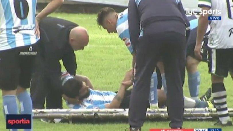 Παραλίγο τραγωδία σε γήπεδο στην Αργεντινή (vid)