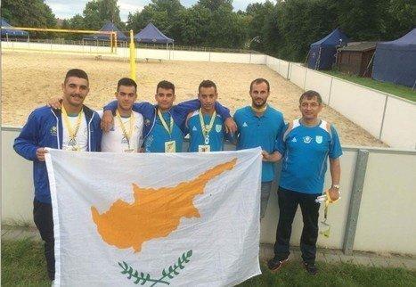 Μπιτς Βόλεϊ: Στο Ευρωπαϊκό Στρατιωτικό Πρωτάθλημα η Κύπρος