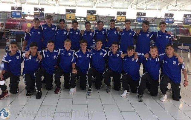 Διεθνές τουρνουά Αρμενίας: Πρωτιά για την Εθνική Παίδων U15