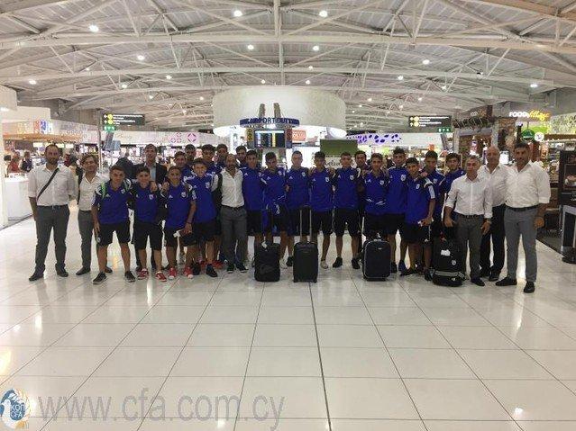 Στο Μαυροβούνιο για φιλικούς αγώνες η Εθνική Παίδων U-17