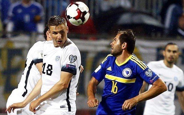 Η επιλογή της Βοσνίας για τον αγώνα με την Κύπρο